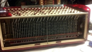 Ebay Accordion with bass buttons that fell down during shipping