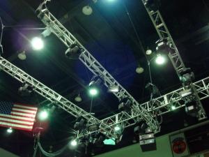 Light Rig at Asheville Civic Center 2007
